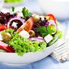 Voeding afvallen SLIMdiet salade